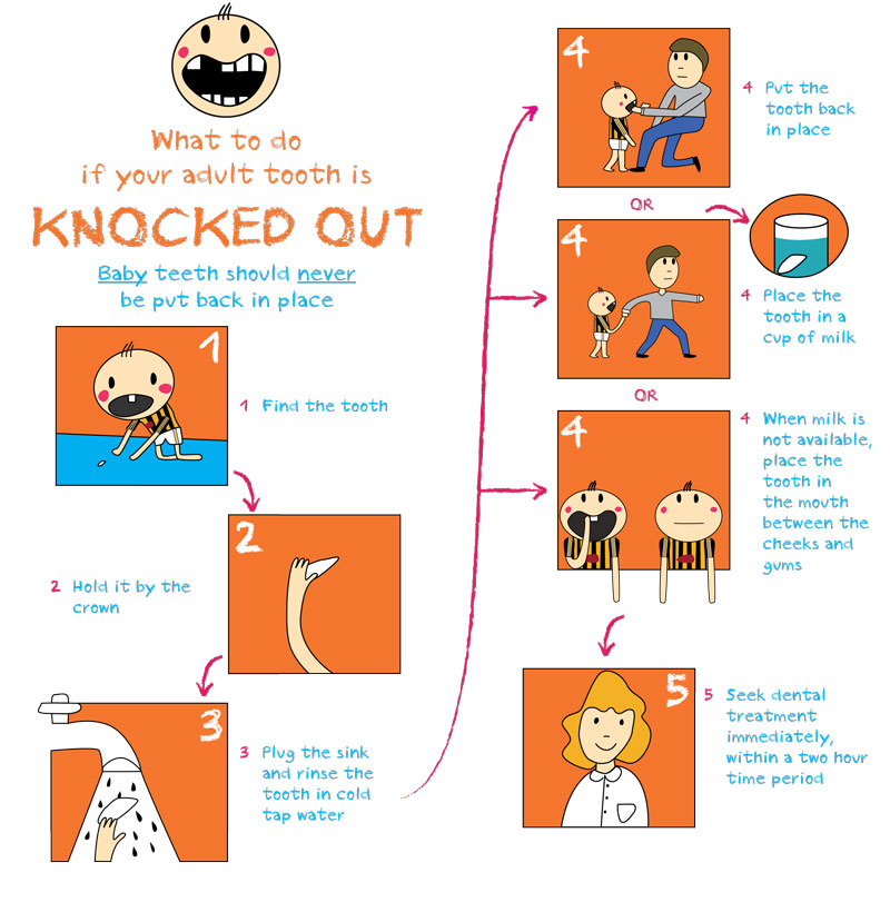 the dentist knock out adult
